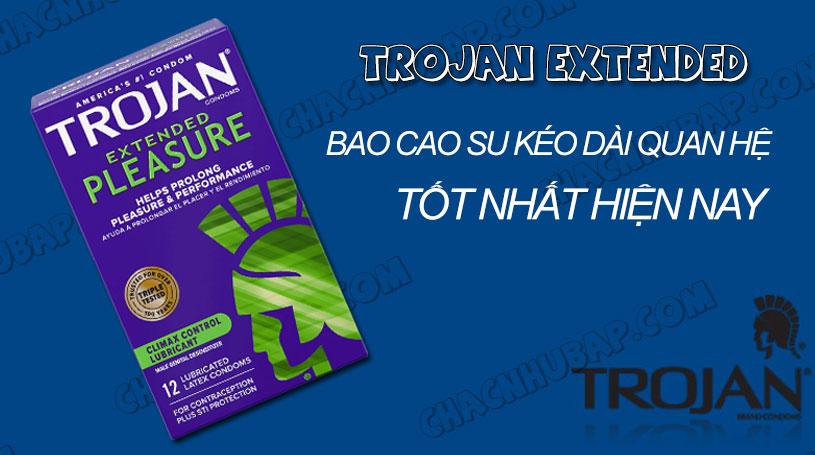 Bao cao su Trojan Extended