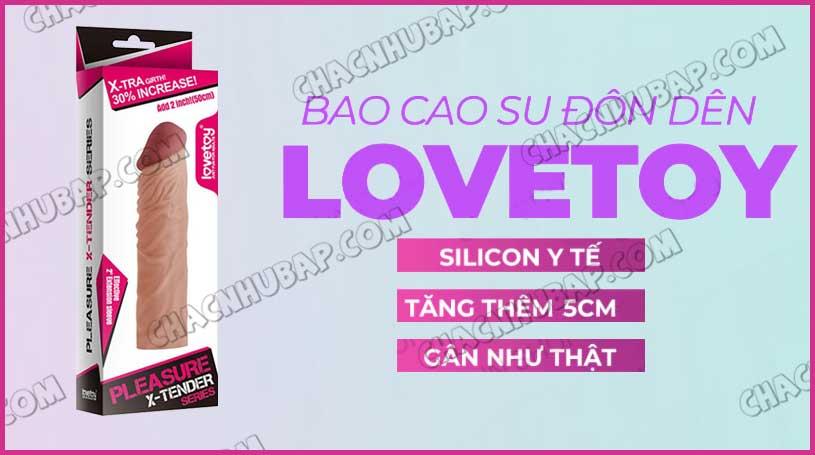Bao cao su Lovetoy X-Tender