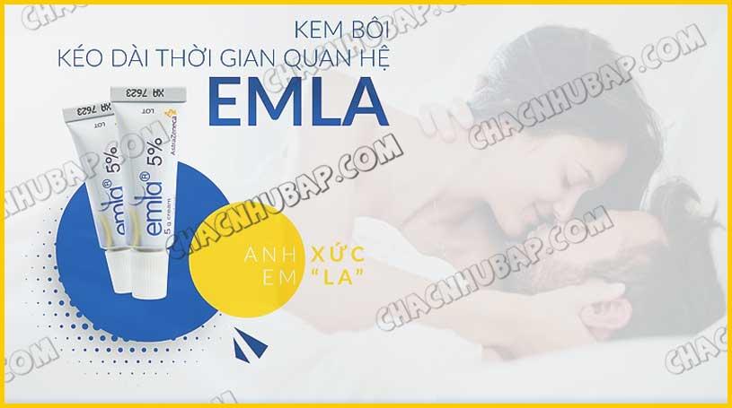 Gel bôi chống xuất tinh sớm Emla 5%